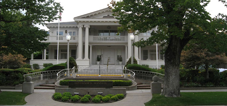 The Governor's Mansion in Nevada.