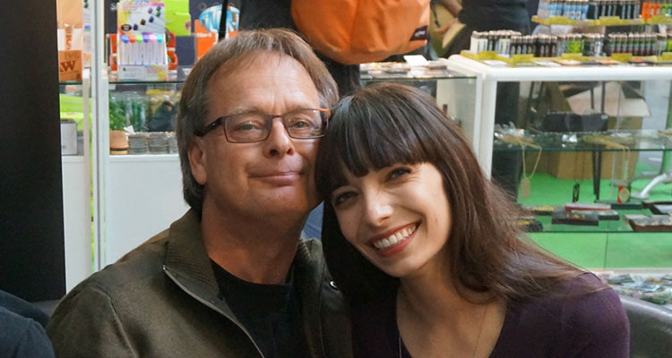 Marc and Jodie Emery, famed Canadian cannabis activists.