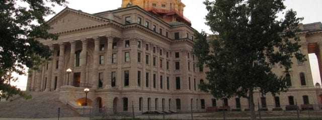 The Kansas Capitol Building in Topeka, Kansas.