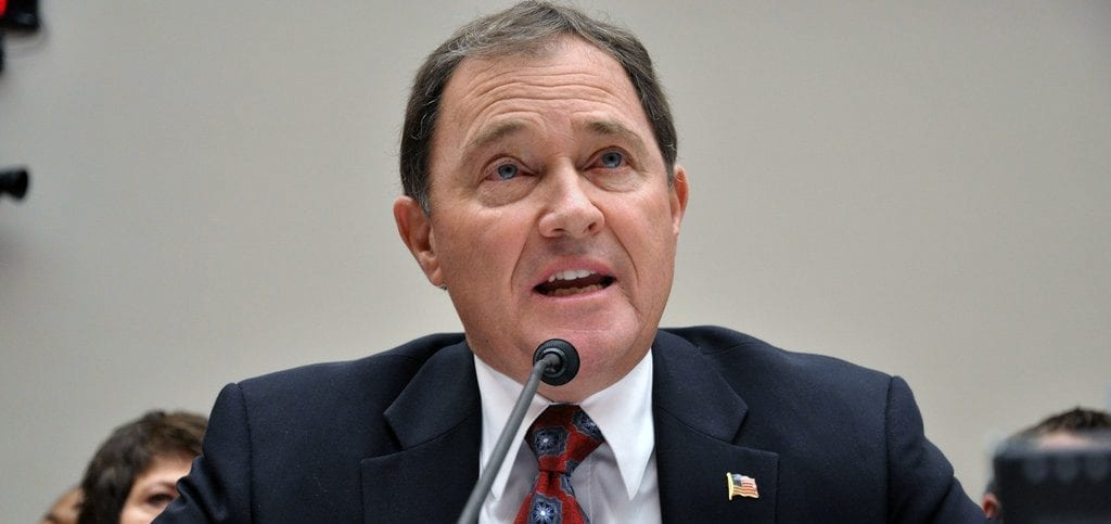 Gov. Gary R. Herbert, the Republican governor of Utah.