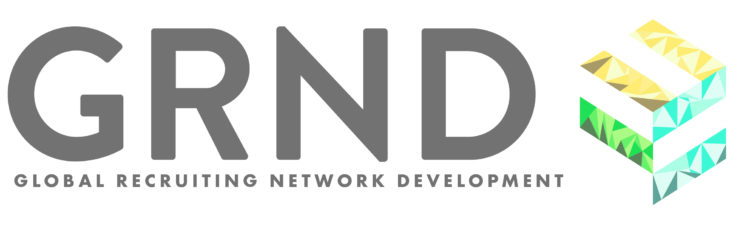 GRND: Global Recruiting Network Development logo