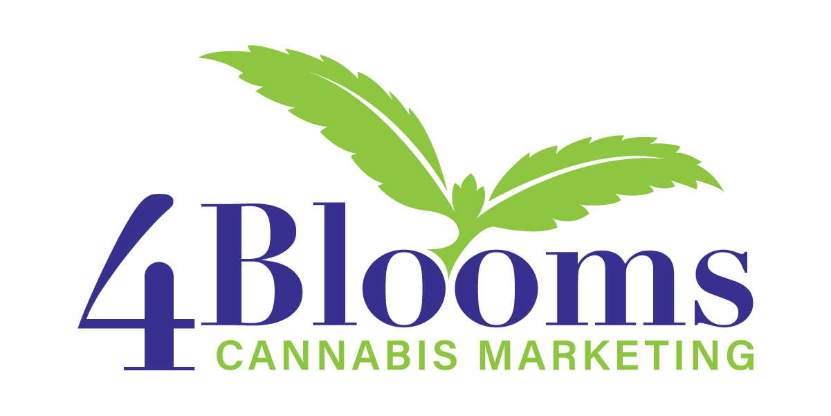 4Blooms Cannabis Marketing Logo