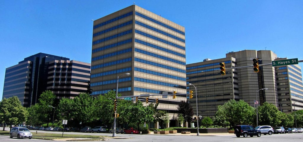 The official headquarters for both the DEA and TSA in Arlington County, Virginia.