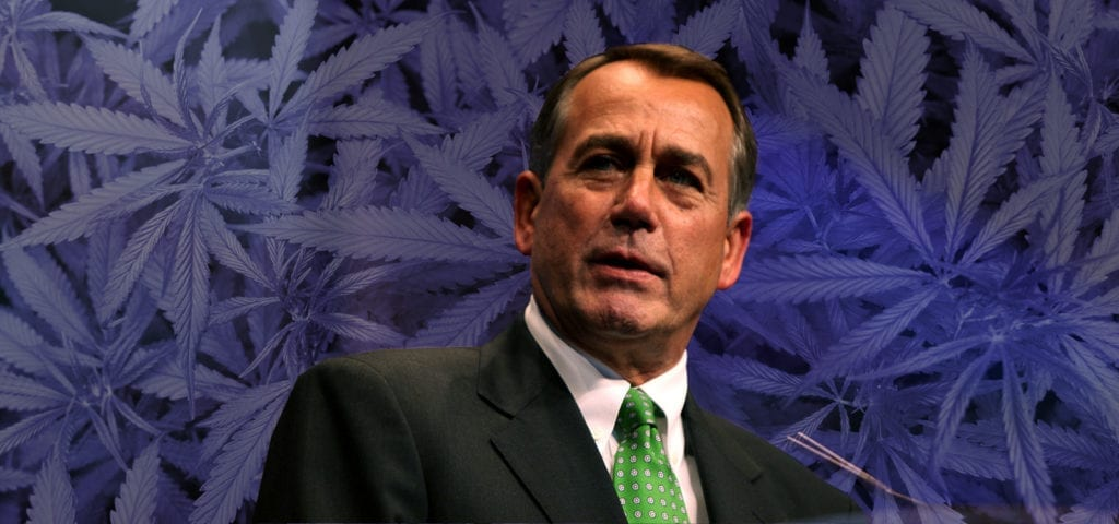 Former House Speaker John Boehner has recently joined up with a cannabis corporation in New York.