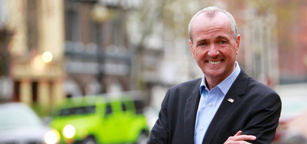New Jersey's Governor Phil Murphy photographed in 2015 in the lead up to his successful 2017 campaign bid.
