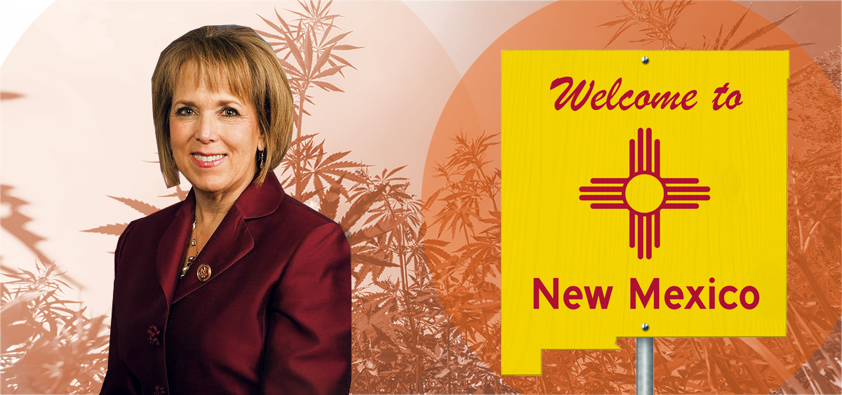 New Mexico Gov. Signals Strong Support for Cannabis Legalization