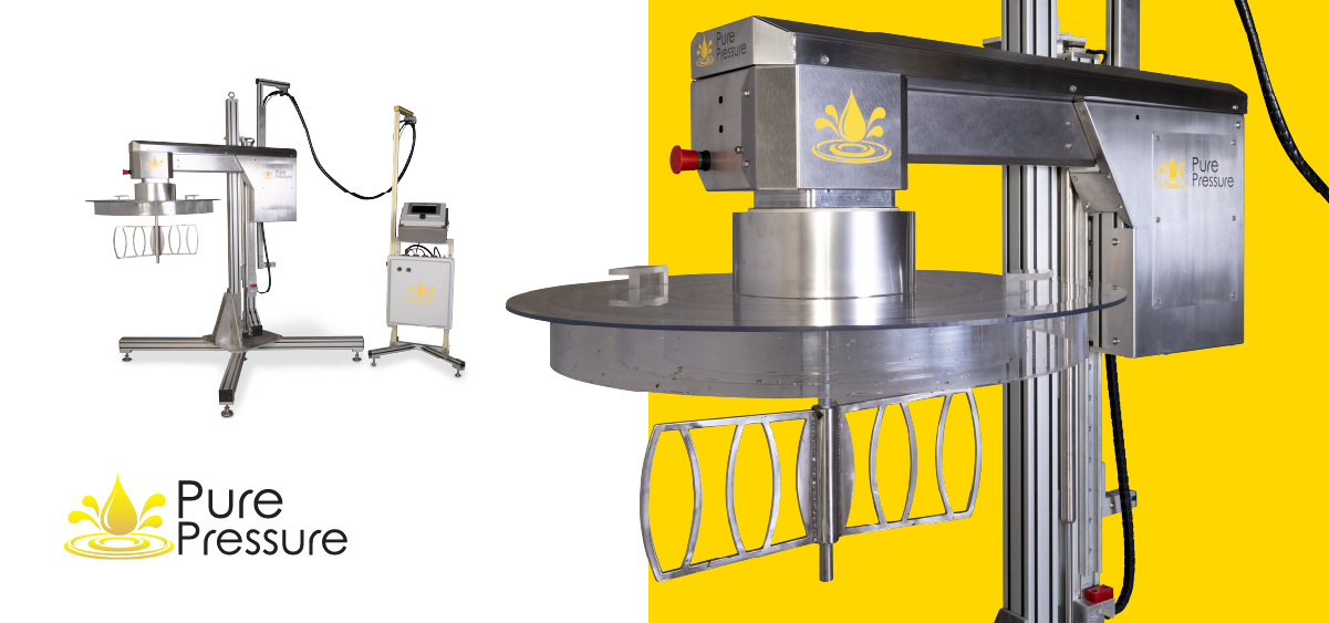 photo of PurePressure, Leading Rosin Press Manufacturer, Announces Launch of New Axis Trichome Separator image