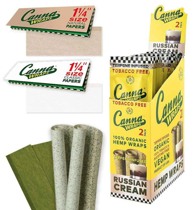 Canna Wraps Rolling Papers